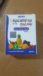 Apcalis-SX Oral Jelly 20mg 1 Week Pack