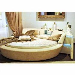 Sleepway Spring,Foam Round Shape Spring Mattress, For Hotels, 84*84*8 Inches