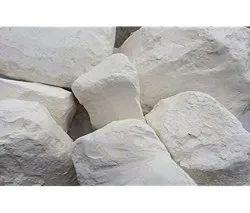 Off White Dustless Chalk Powder Lump, Grade: B1
