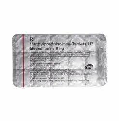 Medrol Methylprednisolone Tablet 8 mg