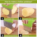 Wave Potato Cutter Slicer