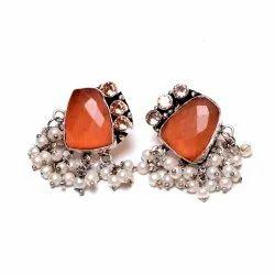 Monalisha Gemstone Designer Earrings