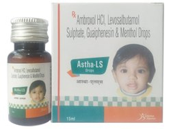 Astha-LS Ambroxol HCL Levosalbutamol Sulphate Guaiphensin & Menthol Drops