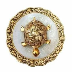 Gold Plated Feng Shui Tortoise For Home Decoration & Corporate Gift.