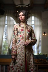 Designer Kashmiri Jamawar Jacket