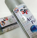 Metallic Silver - Heat Resistant (Upto 600.C) Spray Paint