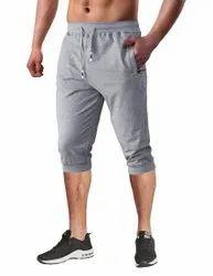 Branded Regular Mens 3/4 Jogger Capri
