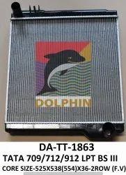 标准铝海豚塔塔709 LPT BS-III卡车散热器,型号名称/数字:DA-TT-1863