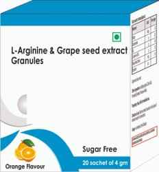 L- Arginine & Grape Seed Extract Granules
