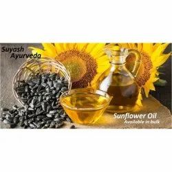 Natural Yellow Sunflower Oil Sample Pack 100 Ml, For Cooking
