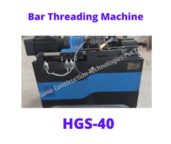 HGS 40 Rebar Threading Machine