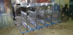 S.S Trolley for Cooling Condensor