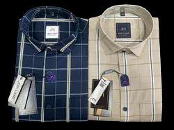 About Men Cotton Check Shirts, Size: S To 4xl