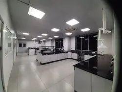 Lab Interior Designing Services, Work Provided: False Ceiling/POP
