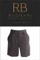Rughani Brothers FIber Dyed Polyester Viscose Boys School Trousers Pants, For Uniform