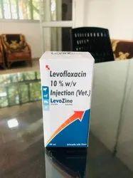 Levofloxacin 10 % w/v Injection (Vet.)
