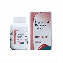 HIVUS - LR (Lopinavir 200 mg + Ritonavir 50 mg)