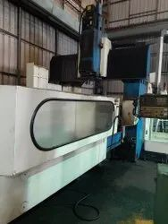 Old And Used Make Kao Ming Kmc-3000sd Cnc Double Column Machine Center