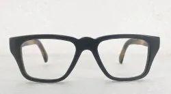 Tyler Optical Black Buffalo Horn Sunglasses