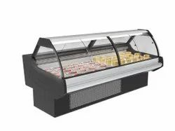 Stainless Steel Deli Counter, For Street Food Stall