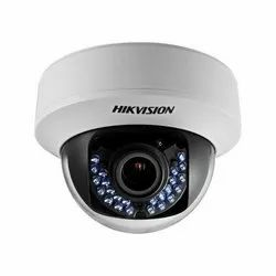1.3 5 MP Hikvision CCTV Dome Camera, For Indoor Use