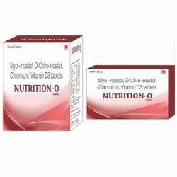 Myo Inositol D Chiro Inositol Chromium Vit D3 Tablet