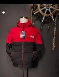 Full Sleeve Reversible Jackets Mans Leather Jacket