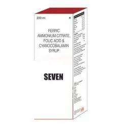 Ferric Ammonium Citrate Folic Acid & Cyanocobalamin Syrup