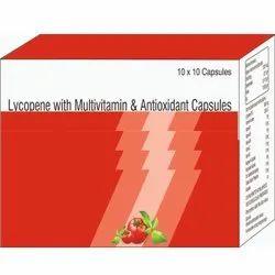 Lycopene With Multivitamin & Antioxidant Capsules