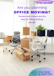 Office Shifting Services, in Boxes, Local