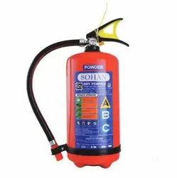 Dry Powder Type A Class Sohan Fire Extinguisher, For Industrial Use, Capacity: 2 Kg