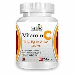 Vitamin C D & Zinc tablet