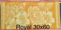 Yelloe Printed Royal Terry Towel, Rectangular, Size: 60 X 30 Inch