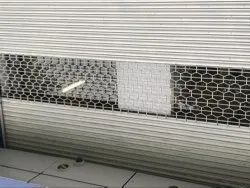 Commercial Zig Zag Grill Rolling Shutters