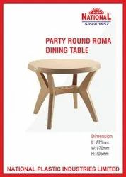 National Party Round Roma Dining Table