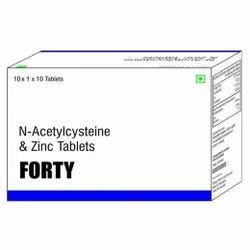 Acetylcysteine Selenium & Zinc Tablets