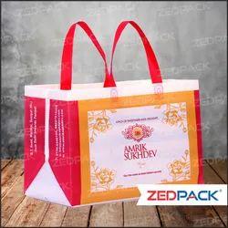 Polypropylene Flexo Printed Carry Bags, For Shopping, Capacity: 5 Kg