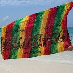 Cotton Printed Pareo Towel