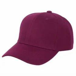 Magenta Cotton Cap