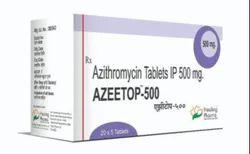 Azeetop 500 mg Azithromycin Tablets