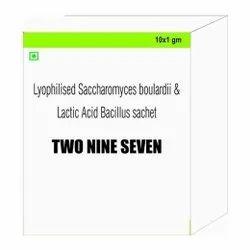 Lyophilised Saccharomyces Boulardi & Lactic Acid Bacillus Sachet