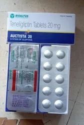 Teneligliptin Tablets 20 Mg, For Hospital, Packaging Size: 10x10