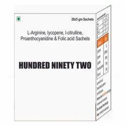 L Arginine Lycopene L- Citrulline, I Citrulline Proanthocyanidine & Folic Acid Sachet