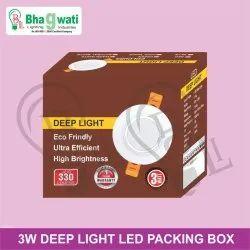 3W Deep Light Packaging Box