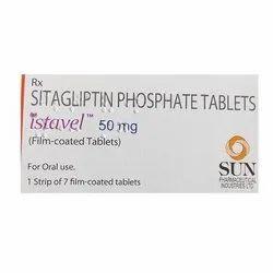 Istavel 50 Mg Tablets (Stagliptin)