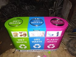 SS Trio Recycle Bins