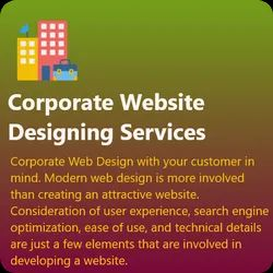 HTML5/CSS Responsive Corporate Website Designing Services, With 24*7 Support