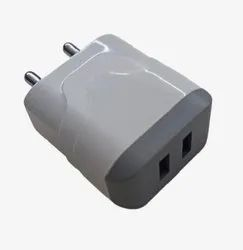 Mobile Charger 5V 2.4A Dual USB CRS91D-6