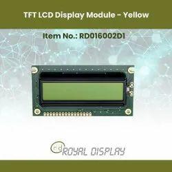 Alphanumeric LCD Display