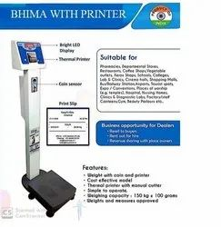 Coin Operated Scale With Printer